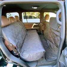 """X-Large Car Seat Cover For Dogs and Pets 56""""W Grey"""