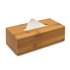 Kosmetiktücherbox Bambus 24 cm Kosmetikbox Taschentuchbox Kosmetiktuchspender