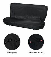 Black Rear Back Waterproof Car Seat Cover Protector For Nissan Juke 2010 On