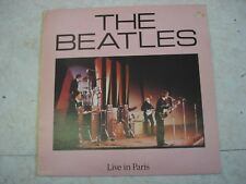 THE BEATLES Live in Paris- LP- Pyramid Records RFT LP 002