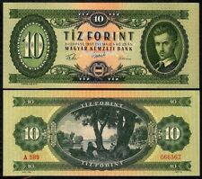 HUNGARY 10 FORINT 1957 P168a UNCIRCULATED