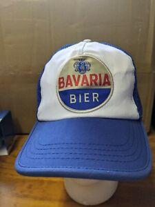 Bavaria Bier Beer Trucker Retro Style Hat Cap - Bottle Glass