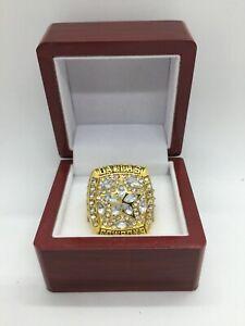 1995 Dallas Cowboys Troy Aikman Super Bowl Championship Ring Set GOLD with Box
