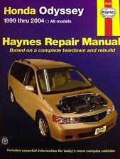 Honda Odyssey Haynes Repair Manual 42035 Fits 1999 Thru 2004