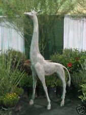 8 FT Fiberglass STANDING  GIRAFFE garden animal statue