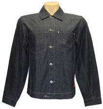 "New ""RUSTY EXPERIMEN"" Men Plus Size L Cotton Denim Jackets Coats  Navy"