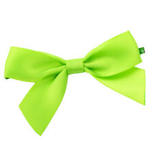 x100 Green Twist Tie Bows 7.6cm st patricks day cake pop decoration fasteners