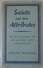 Saints Attributes Helen Roeder 1955 HBDJ 1st Ed CATHOLIC RARE Litany Directory