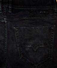 ORIGINAL DIESEL TEPPHAR 069AC SLIM CARROT SKINNY JEANS BLACK W 33/34 SCHWARZ