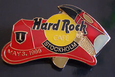 HRC Hard Rock Cafe Stockholm Firemans Hat and Axe LE500 New