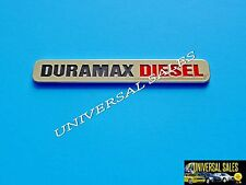 DURAMAX DIESEL CHEVY SILVERADO 2500 3500HD GMC SIERRA NAMEPLATE BADGE FENDER NEW