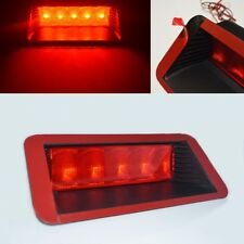 Universal Fit 5 Red LED Red Lens Third 3rd Brake Light Stop Lamp Brand New