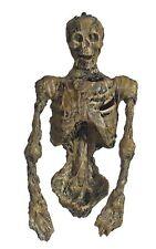 "Hanging Decay Rotten Skeleton Torso 20"" Light-Up Eyes Halloween Decoration Prop"