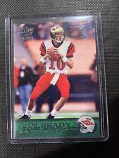 New listing 2000 Pacific Tom Brady New England Patriots #403 Football Card