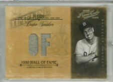 2004 Prime Cuts Baseball Duke Snider Timeline Jersey Card # Tl-22 Serial # 11/25