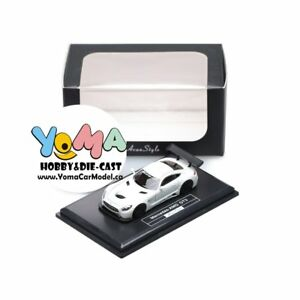 Frontiart AvanStyle 1/87 Mercedes Benz AMG GT3 White AS017-02