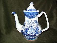 Mason's England Blue Ascot Coffee Pot