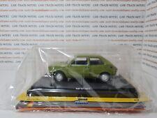 Fiat 127 - 1971 + fascicolo FABBRI - Quattroruote Collection 1:24