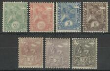 ETHIOPIA 1894 MENELIK 11 / LION OF JUDAH SET MINT
