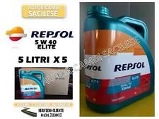 OLIO MOTORE REPSOL 5W 40 ELITE 50.501 TDI 100% SINTETICO 25 LIT.