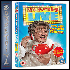 MRS BROWNS BOYS LIVE - HOW NOW MRS BROWN COW -TOUR 2015   *BRAND NEW DVD***