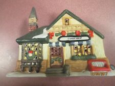 WELLINGTON Square collection CANDY SHOP CHRISTMAS HOLIDAY TRAIN Village House