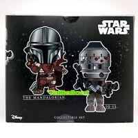 Hot Toys Star Wars EP9 The Mandalorian & IG-11 Cosbaby Collectible BoxSet