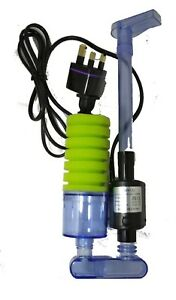 New XY 2901 Power Sponge filter with ceramic media and spare sponge.