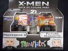 "X-MEN: DAYS OF FUTURE PAST MINIMATES ""PROFESSOR X & FUTURE MAGNETO"" (DIAMOND)"