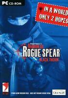 Tom Clancy's - Rainbow Six ROGUE SPEAR Black Thorn PC CD-ROM - NEW