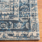 Classic Vintage Blue 4 Ft. X 6 Ft. Oriental Area Rug