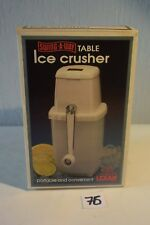 C76 Appareil ice crusher Lexan