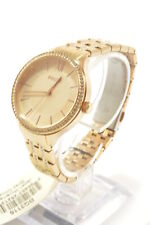 Fossil BQ3116 Suitor Rose Gold Tone Glitz Stainless Steel Bracelet Ladies Watch