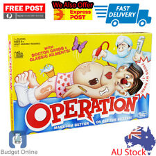 Operation FAMILY BOARD GAME Free Post With Doctor Cards & Classic Ailments