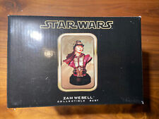 Gentle Giant Star Wars Zam Wesell Collectible Bust #2084/2500 Mib 2002 5.5""