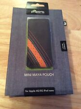 Proporta Apple 4G/5G iPod nano Leather Pouch Brown/Orange