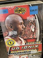 1998-99 Upper Deck UD Ionix Basketball Factory Sealed Box - Look For Jordan AUTO