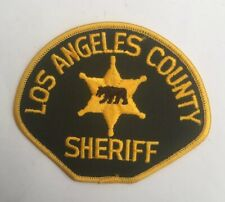 Los Angeles County Sheriff, California old shoulder patch