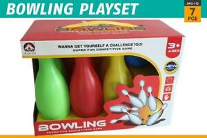 6 Pins 1 Ball Children Bowling Set Indoor Outdoor Physical Entertainment Game