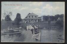 Postcard OSHKOSH Wisconsin/WI  Power Motor Boat Club House view 1907