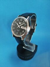 "Vintage ""Seiko 5"" 7009-889LR (8270) Day Date Automatic Wristwatch Japan"