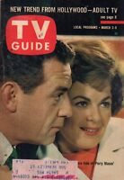 1962 TV Guide March 3 - Barbara Hale; Peter Lynd Hayes; Cha Cha O'Brien;D Thomas