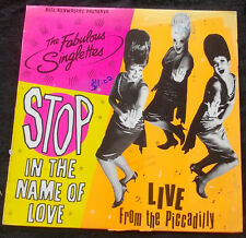 FABULOUS SINGLETTES Stop In The Name Of Love LP