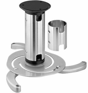 Ceiling Projector Bracket Sand Blasted Aluminum Anodic Oxidation Grey Cabletech