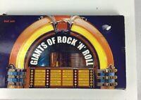 Various Artists Giants Of Rock N Roll  Vol 1-4 Various Artist CD