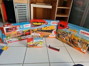 Märklin My World - Startpackung Baustellenzug(29341) , Nahverkehr(29100)