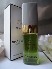 CHANEL No19 100ml 1.7oz EDT Vintage 1970s-1980s Marked Box & Smells Astonishing