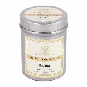 Khadi Natural Organic Reetha Powder 150gm