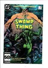 Swamp Thing 38 2nd series DC 1985 2nd Constantine Hell blazer Alan Moore