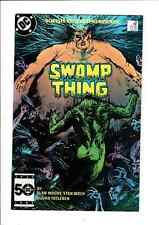 Swamp Thing 38 2nd Series DC 1985 2nd Constantine Hellblazer Alan Moore